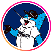 Instagram profile picture of the official Miami Marlins account